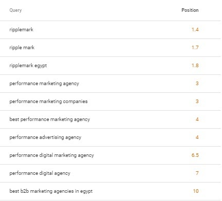 ripplemark Performance Marketing Agency Google Ranking