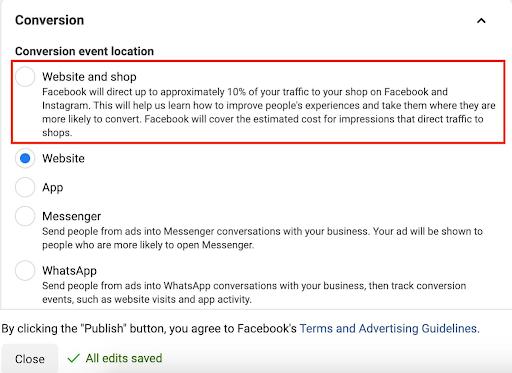 New Facebook Ads Test
